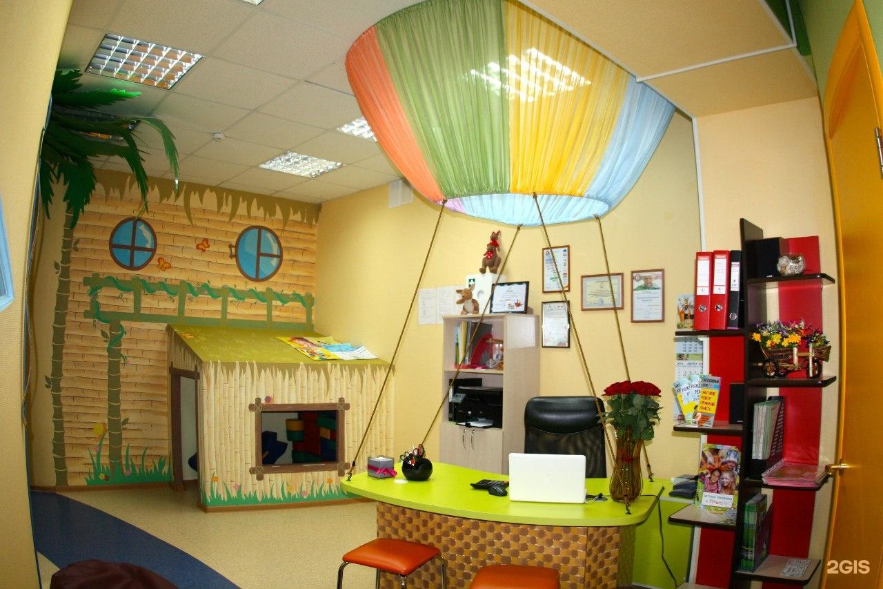 Дизайн интерьера детский центр