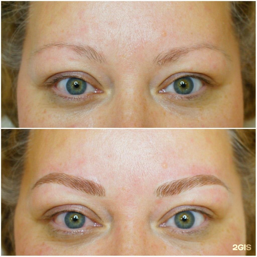 Опасен ли перманентный макияж бровей