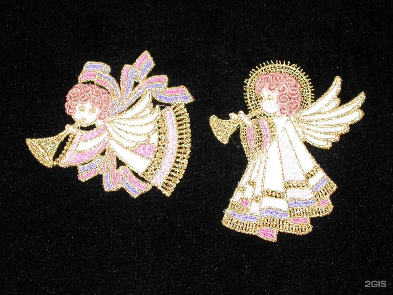 Кружевные ангелочки своими руками