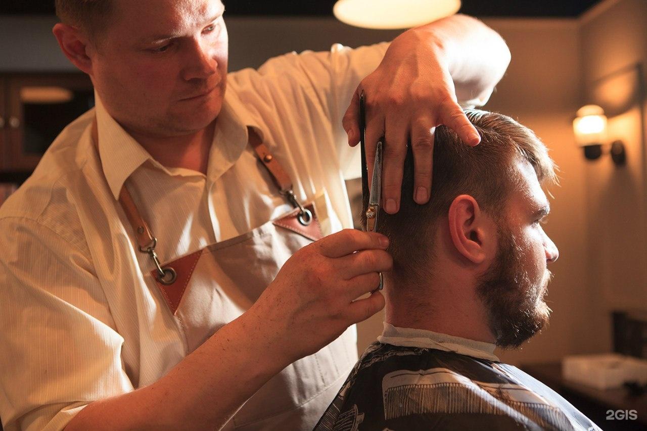 Прически на парикмахерской мужской
