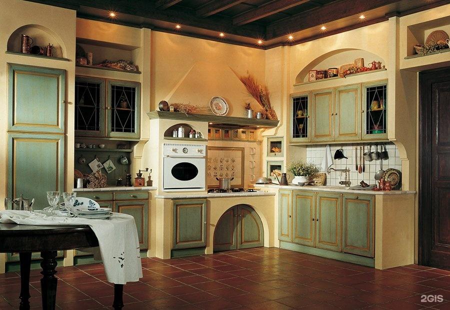 Cucine country muratura 2