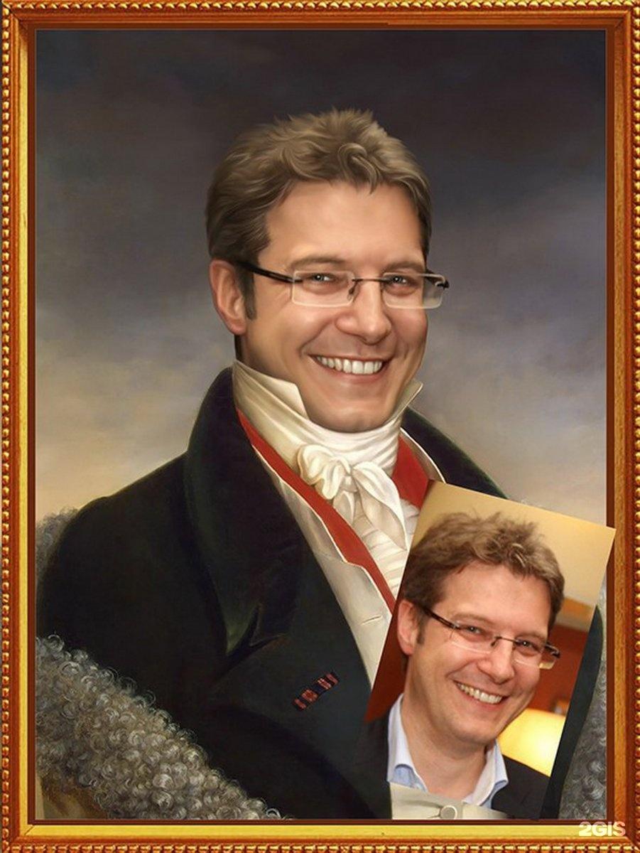 Портрет в подарок парню