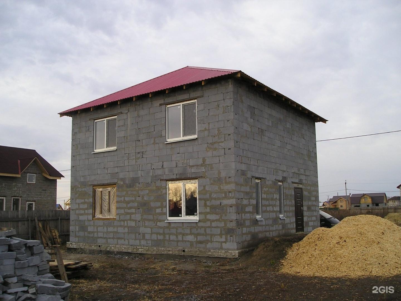 Строительство домов из пеноблоков своими руками фото