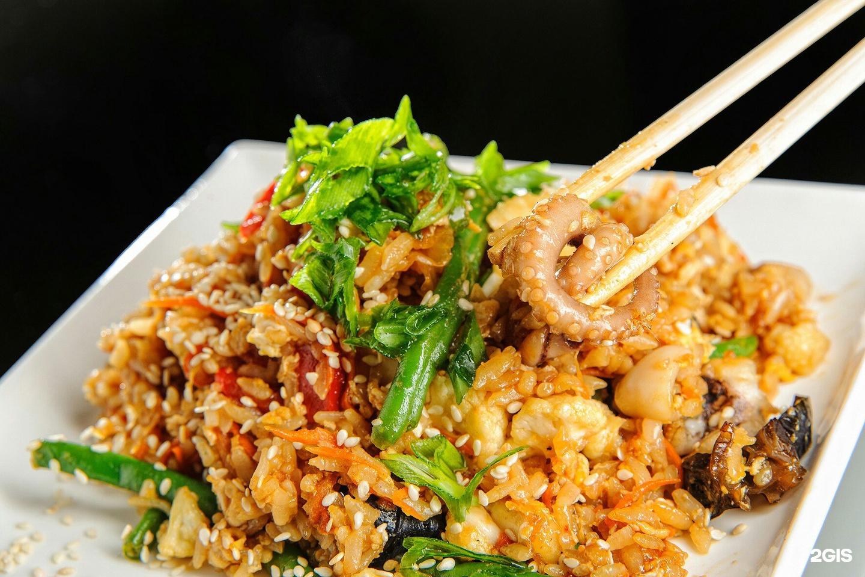Морской коктейль с рисом рецепт