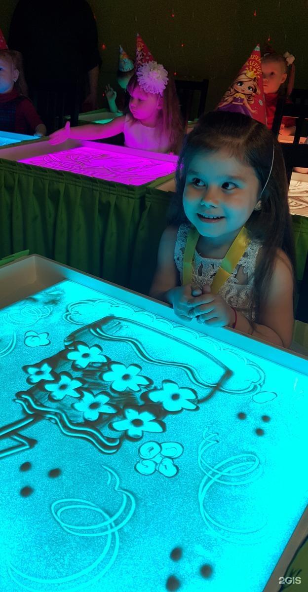 Детский светящийся планшет воображай песком в Сумах