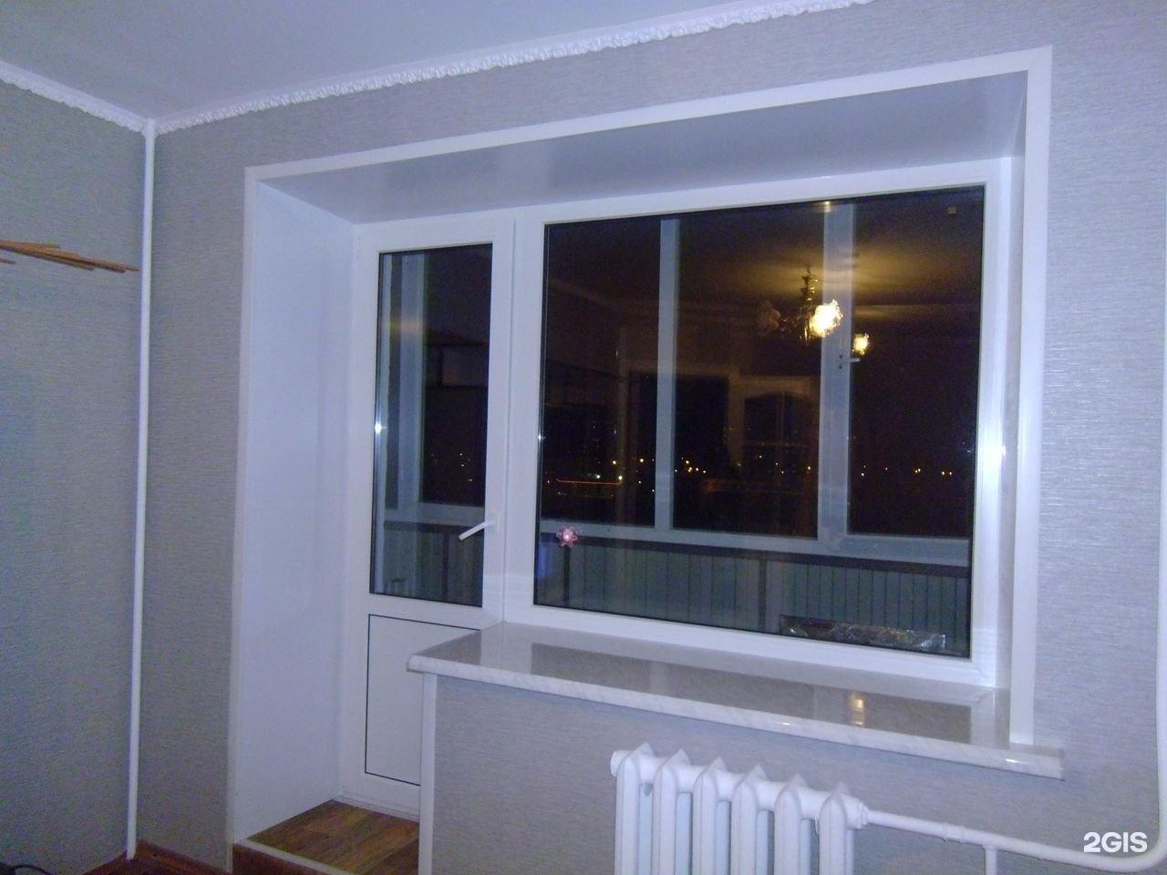 Установка пластиковых окон пвх и алюминия, отделка балконов .
