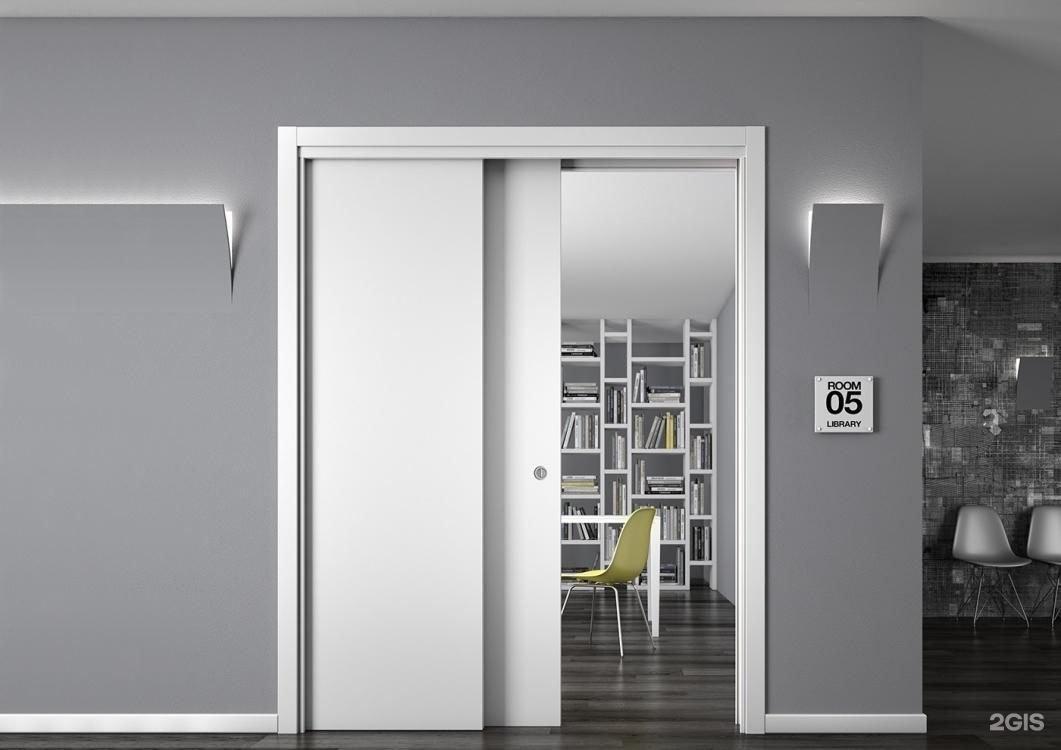 дизайн двери в доме