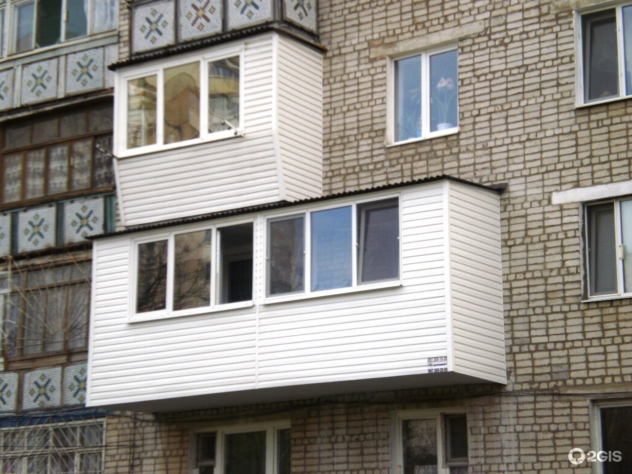 Ремонт балконов, расширение балкона в днепре предлагаю в дне.