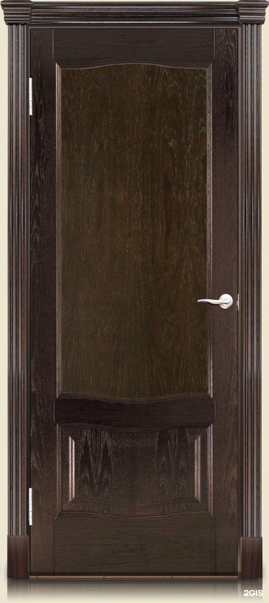 Двери темный дуб фото