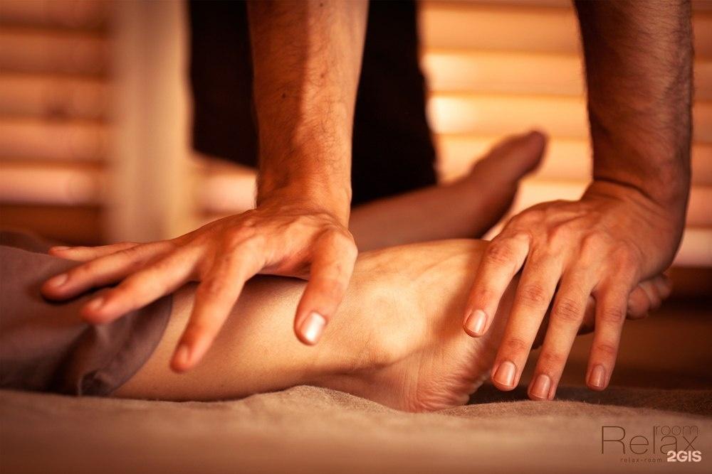 Классический массаж ног видео