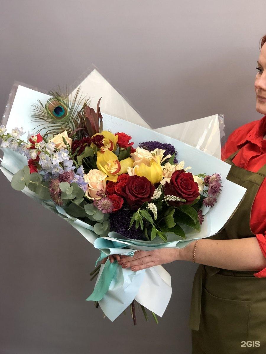 Купить цветы каширская