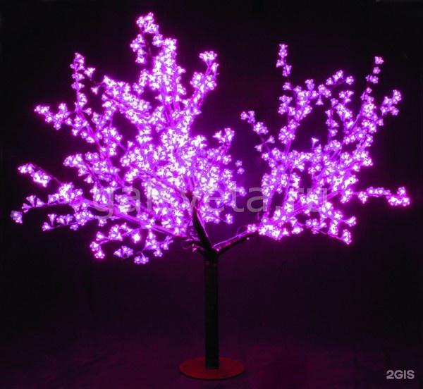 Как сделать световое дерево