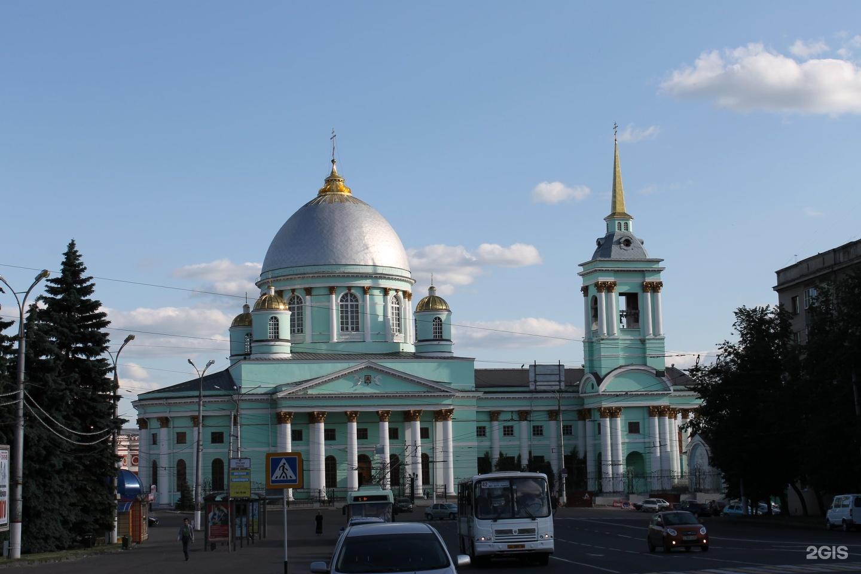 Картинки знаменского собора курск