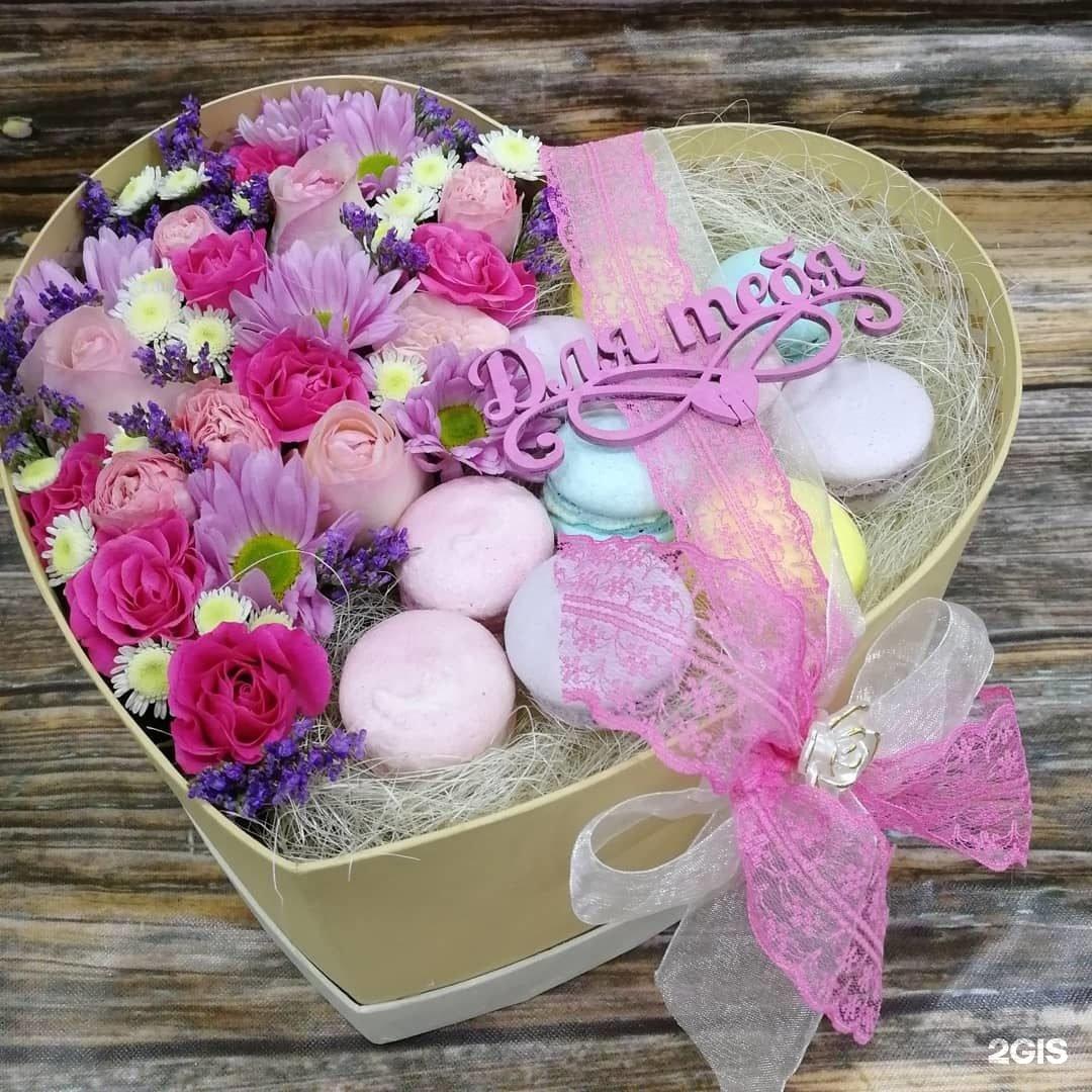 Красивые картинки с днем рождения цветы в коробке